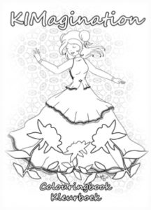 Meisje, Danseres, Kleurboek