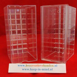 Acrylic Case 36 Leeg