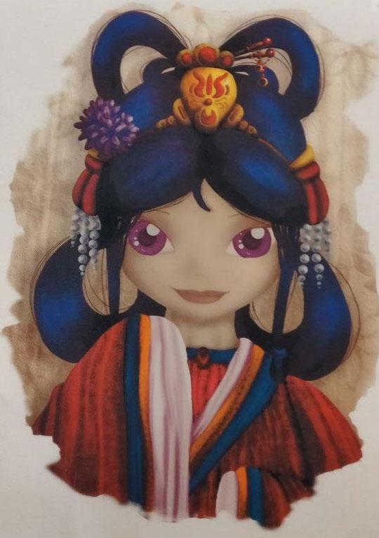 Tas, Meisje, Kimono, Xing-Zing
