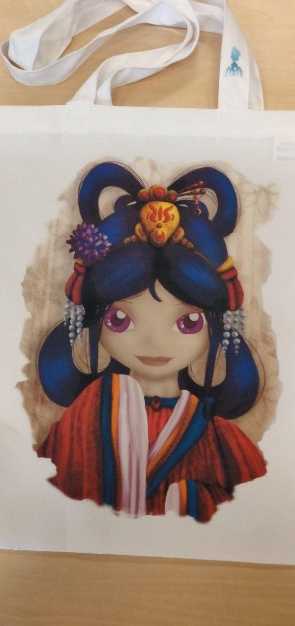 Tas, Meisje, Xing-Zing, Kimono