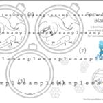 SnowGlobe Kleurplaat
