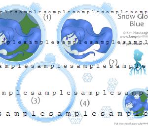 SnowGlobe Blauw