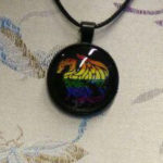 Necklace Rainbow Dragon