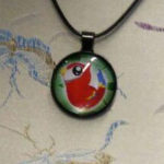 Necklace Kawaii Parrot