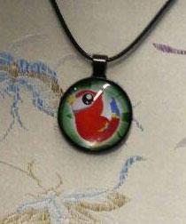 Necklace Kawaii Parrot