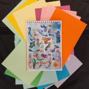 Notitieboekje Tetrominos Mermaids