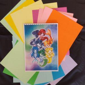 Notitieboekje Rainbow Mermaids