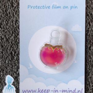 Acrylic Pin Health Potion